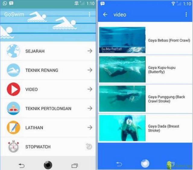 GoSwim App