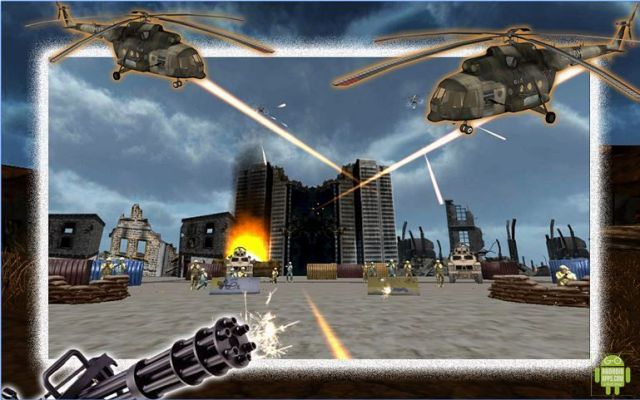 Lone Heavy Gunner Game