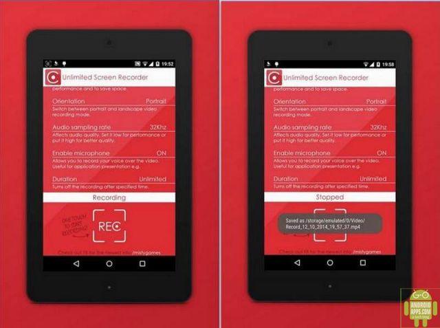 Unlimited Screen Recorde App