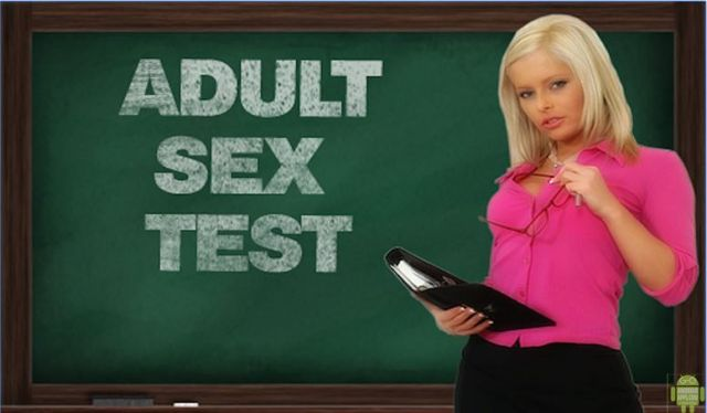 Adult Sex Test Game