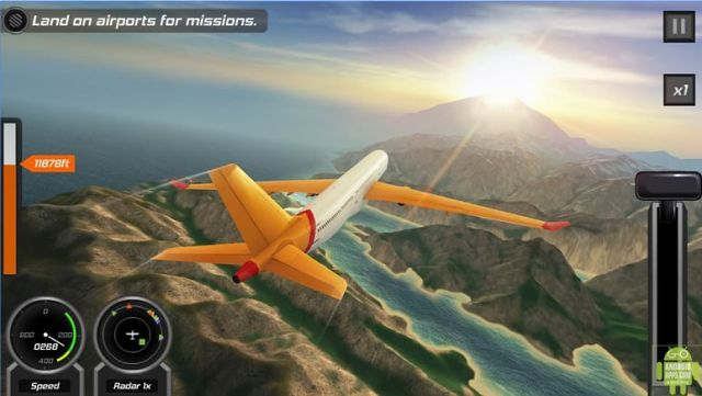 Flight Pilot Simulator 3D Game
