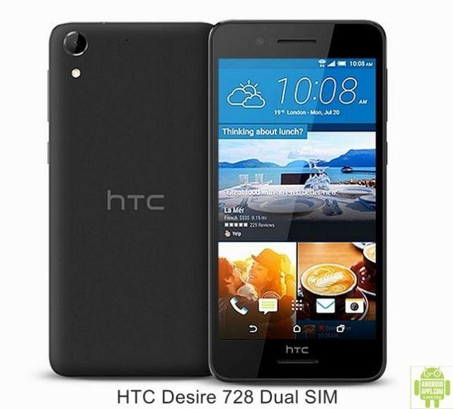 HTC Desire 728 Dual SIM Mobile Black