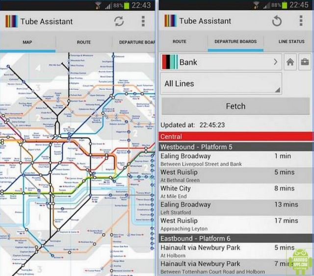 London Tube Assistant App