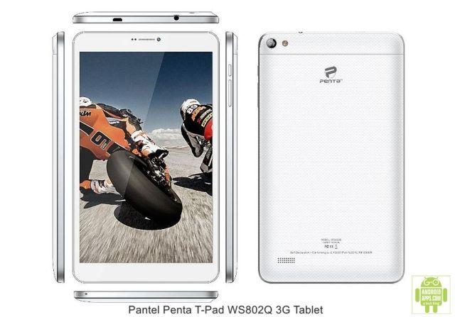 Pantel Penta T-Pad WS802Q 3G