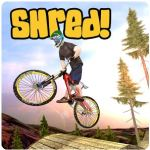 Shred Downhill Mountain Biking