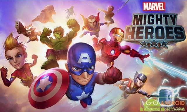 Marvel Mighty Heroes Game
