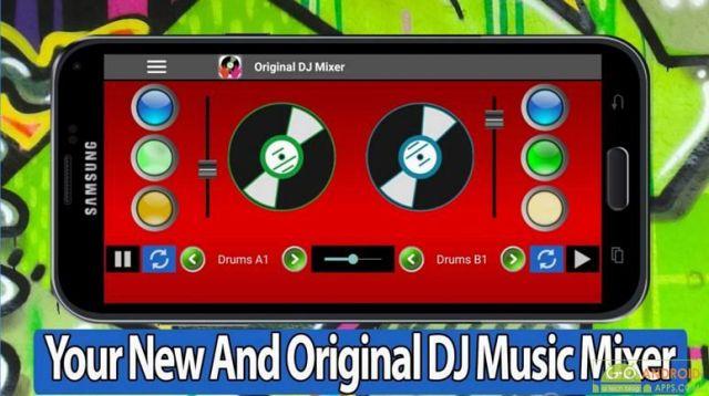 Original DJ Mixer App
