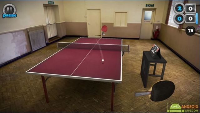 Table Tennis Touch Game