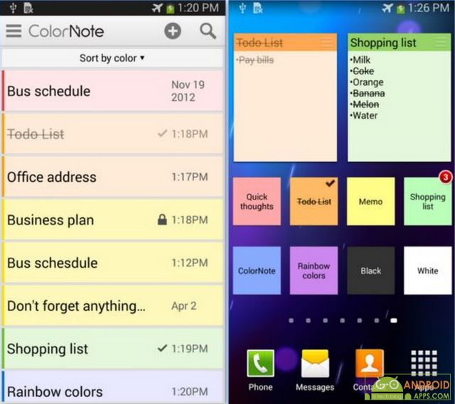 ColorNote Notepad Notes App