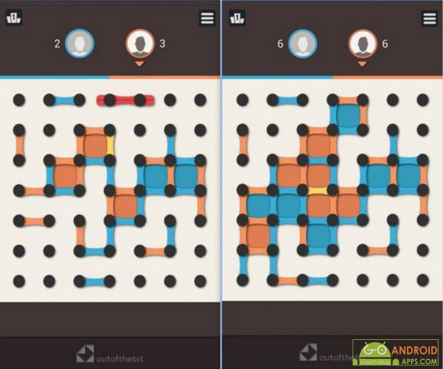 Dots and Boxes App