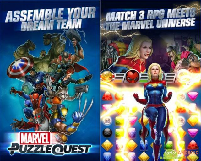 Marvel Puzzle Quest Game