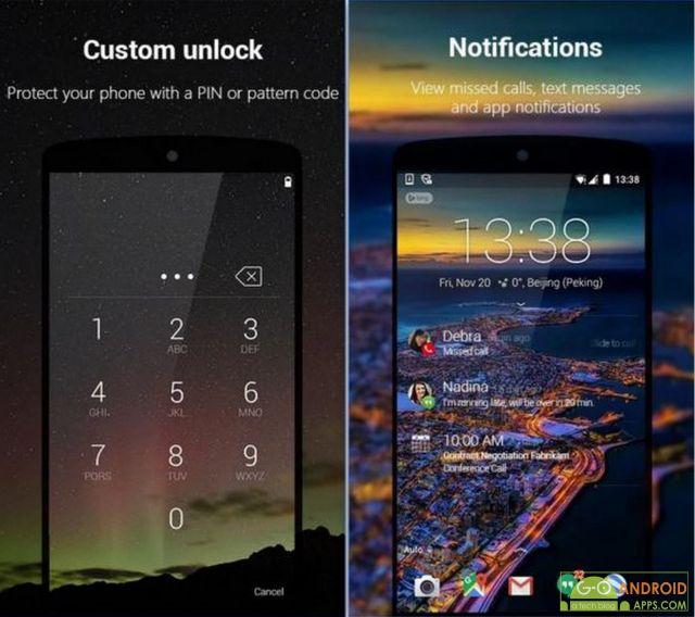 Next Lock Screen App