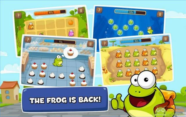 Tap the Frog Faster Game