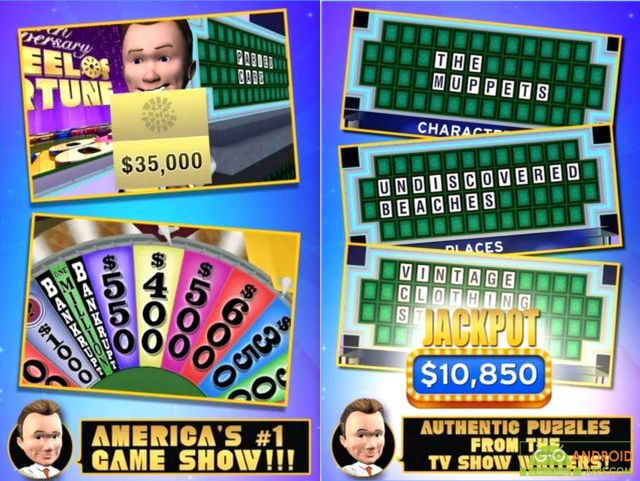 Wheel of Fortune Android Word Game