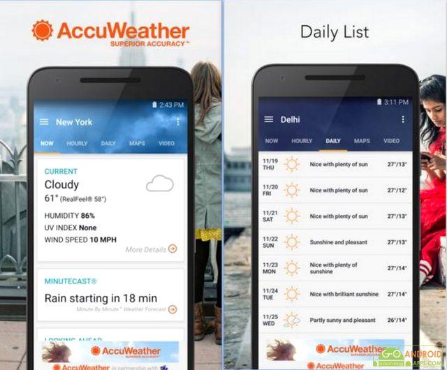 AccuWeather App