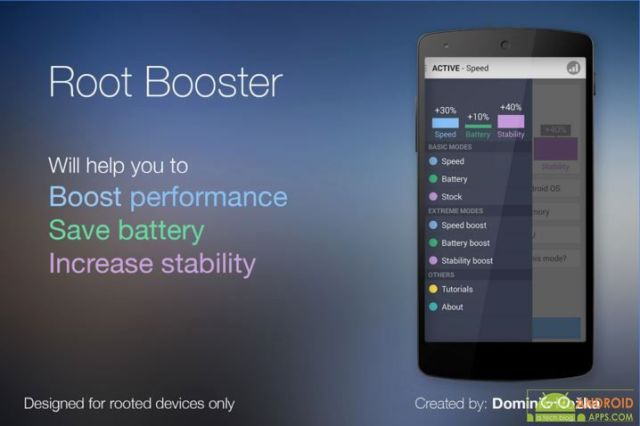 Root Booster App