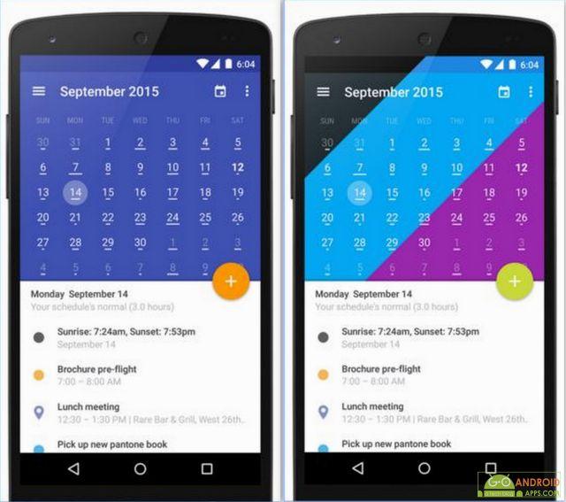 Today Calendar 2016 App