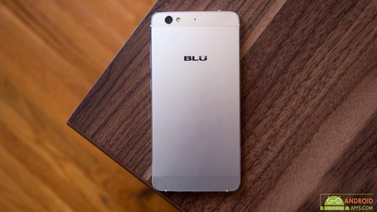 BLU Vivo 5 Back View