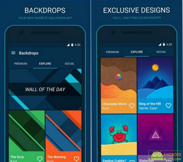 Backdrops - Wallpapers App