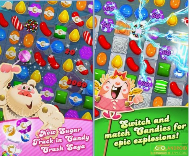 Candy Crush Saga Android Game