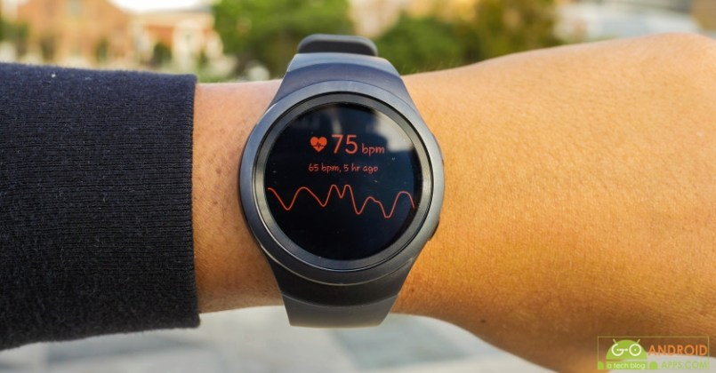 GEAR S2 Heart Rate