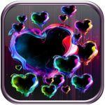 Magic Hearts Live Wallpaper