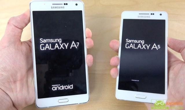 Samsung Galaxy A7 and Samsung Galaxy A5