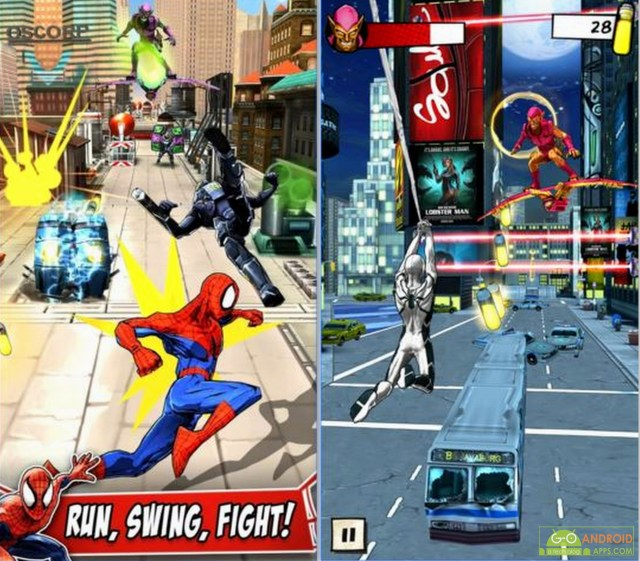 Spider-Man Unlimited Android Game
