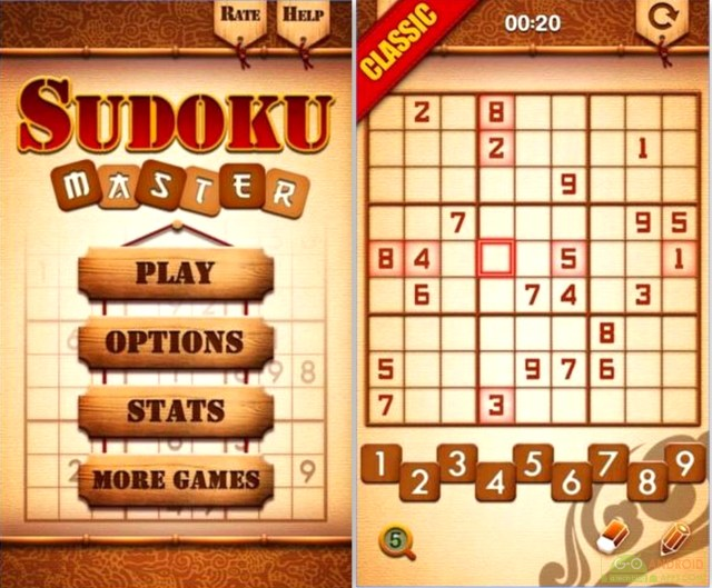 Sudoku Master Game for Android