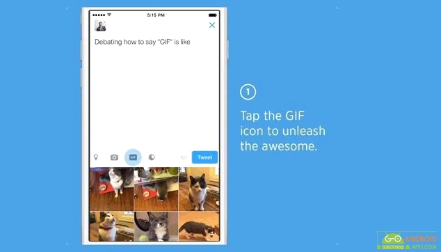 Twitter update features searching and sharing GIFs easier