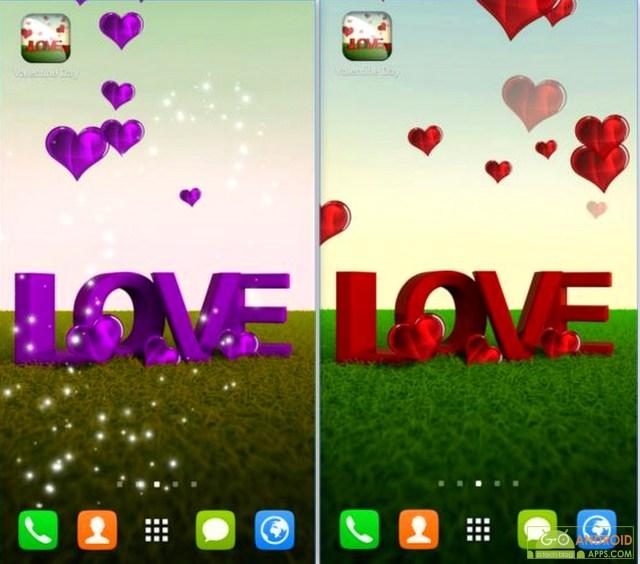 Valentine Day Live Wallpaper App