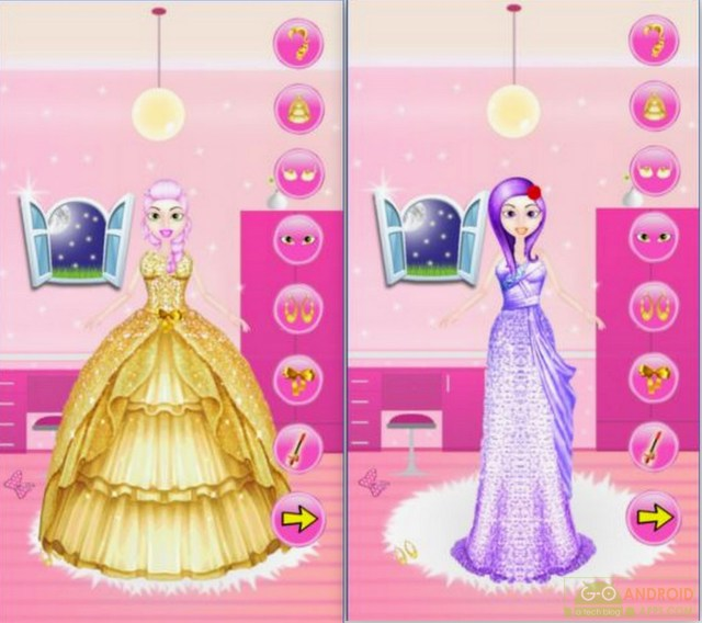 Dress Up Princess Girl App