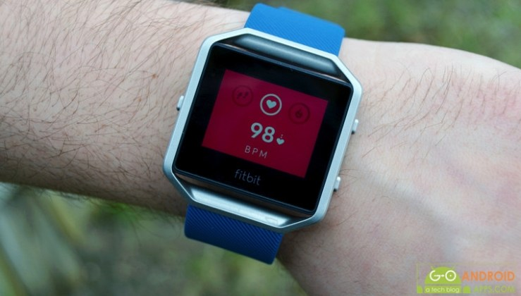 Fitbit Blaze Heart Rate