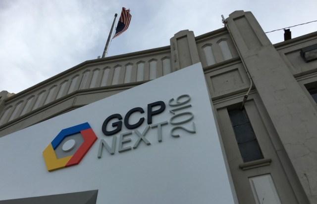 GCP Next 2016 conference