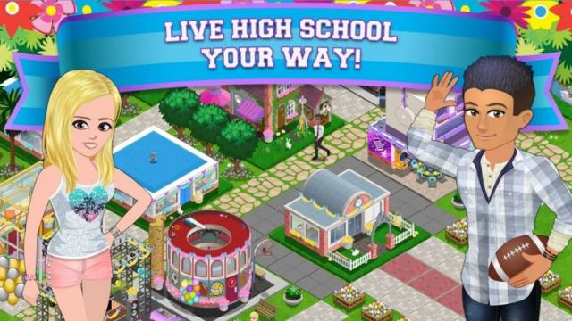 High School Story Game
