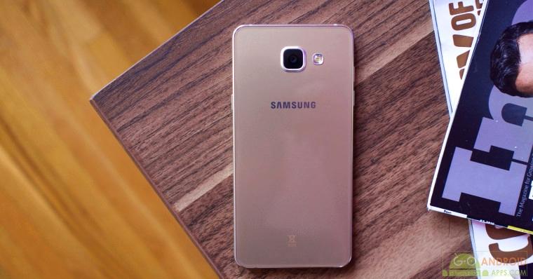 Samsung Galaxy A5 Back View