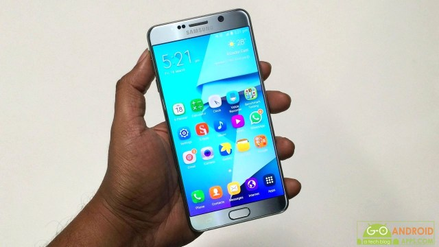 Samsung Galaxy Note 5 Dual First Impression