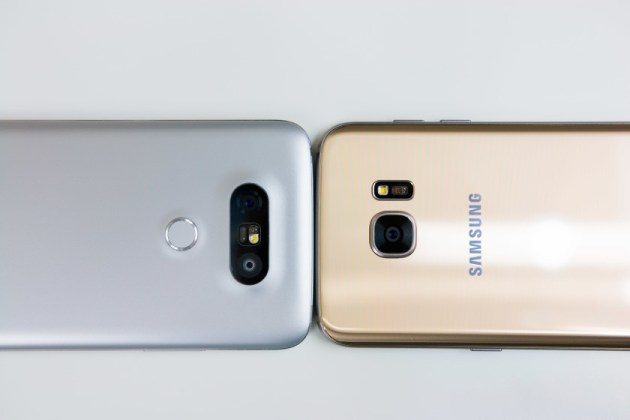LG G5 vs Samsung Galaxy S7 Edge Design