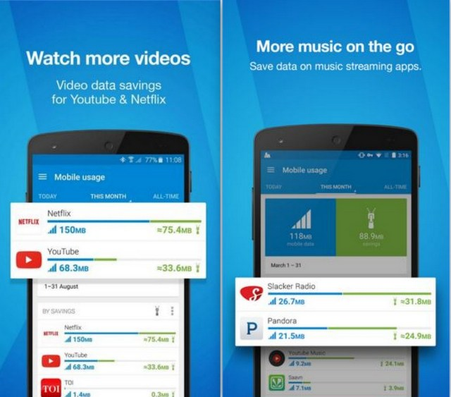 Opera Max - Data saving app