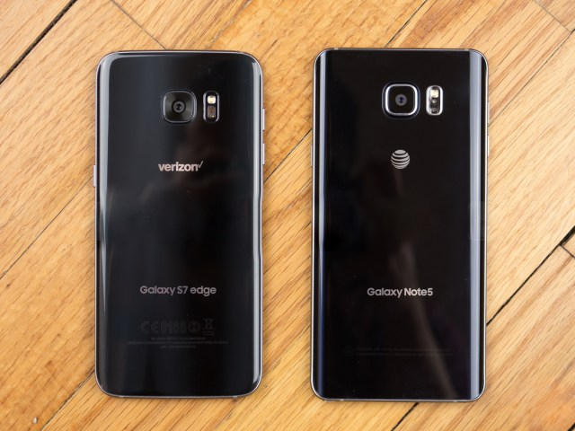 Samsung Galaxy S7 vs Note 5 camera review