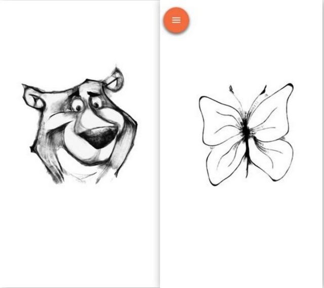 Sketch 'n' go app