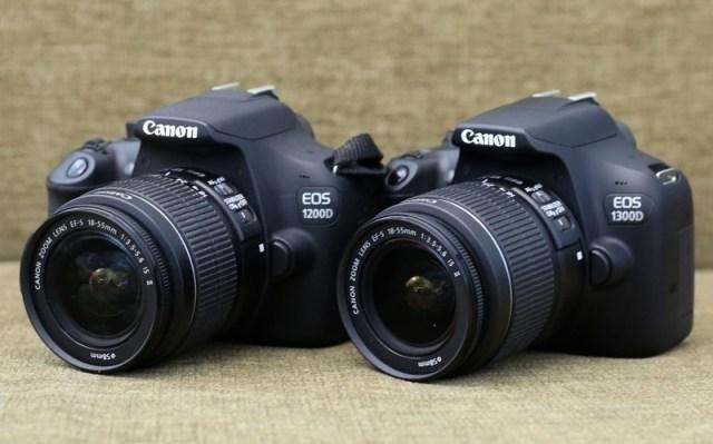 Canon EOS 1300D vs 1200D