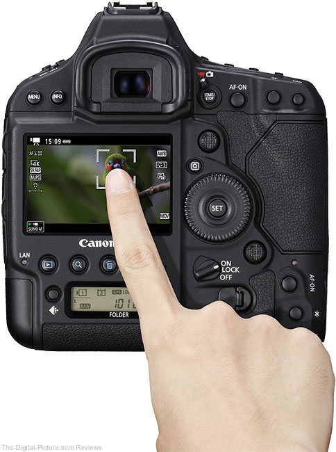 Canon EOS-1D X Mk II Camera