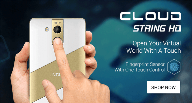 Intex Cloud String HD Launched at Rs. 5,599
