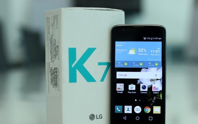 LG K7 LTE Review