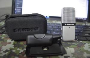 Samson SAGOMIC USB Condenser Microphone Review