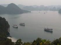 Blick über die Halong Bay