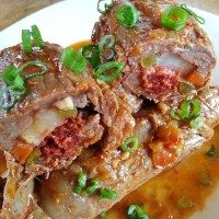 Goan Beef Roulade - ( Beef Rolls)