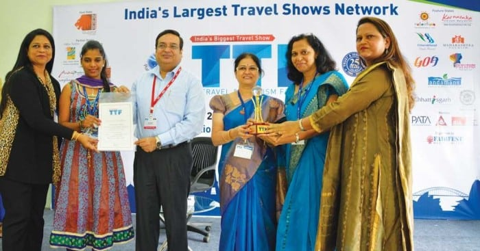Goa Tourism receives the Best Designed Award at TTF, Surat