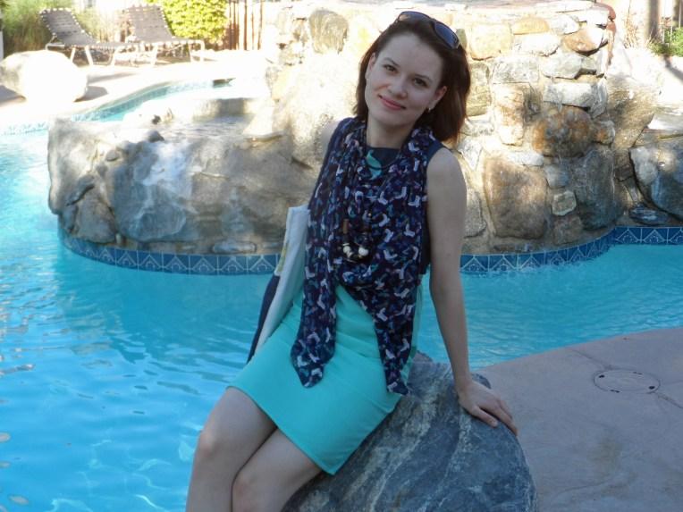 Casual colorblock dress 1